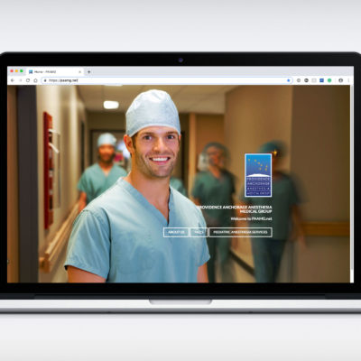 Providence Anchorage Anesthesia Medical Group website