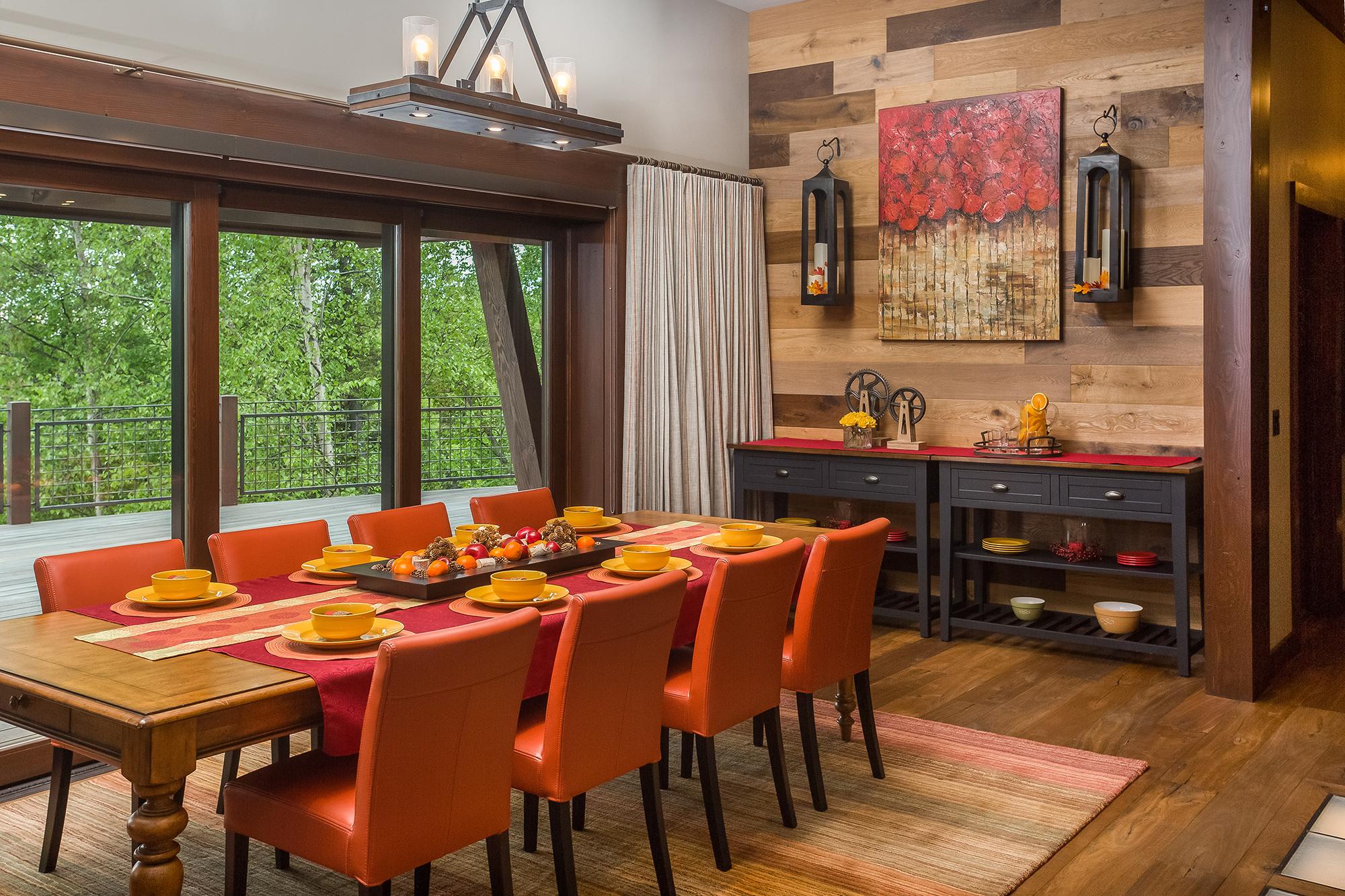 custom hillside home