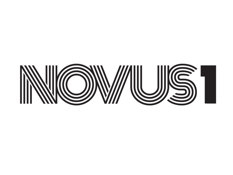 NOVUS1 logo black