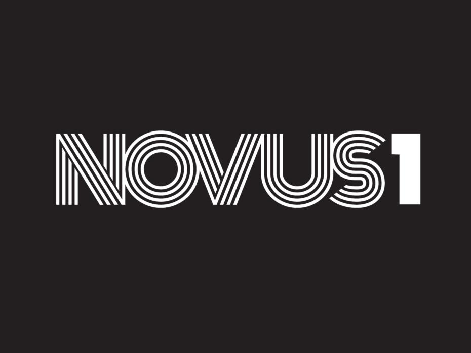 NOVUS1 logo white