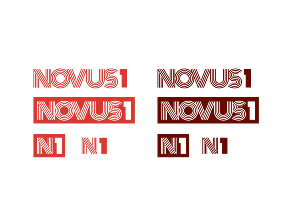 NOVUS1 secondary logos & icons