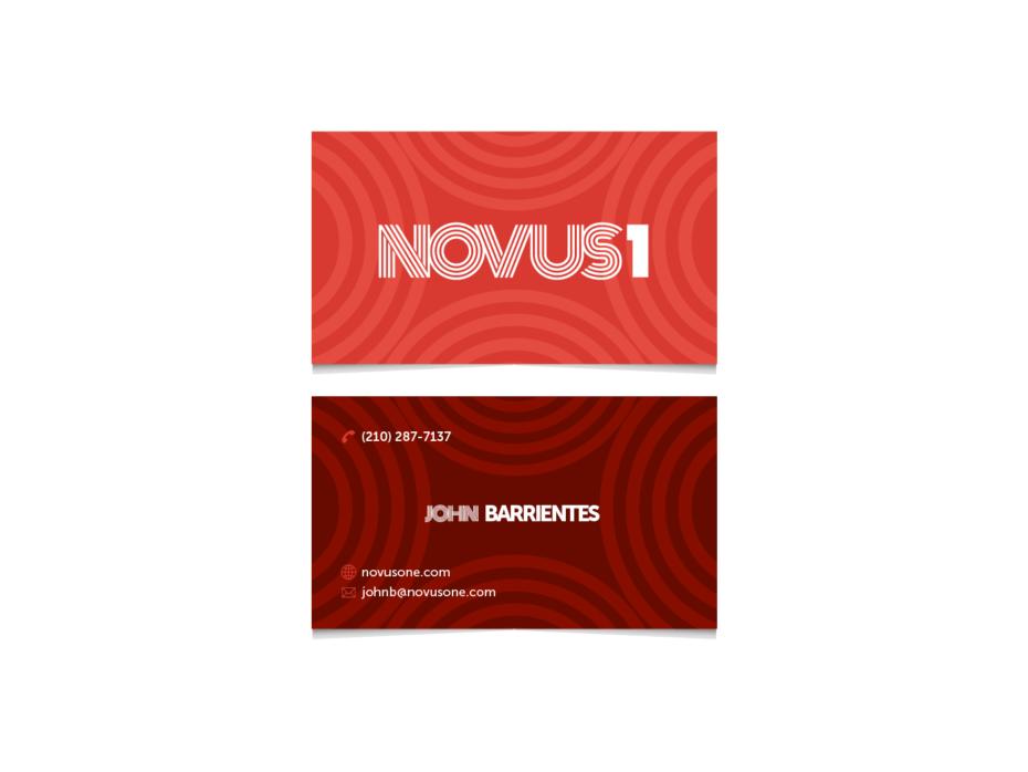 NOVUS1 business card