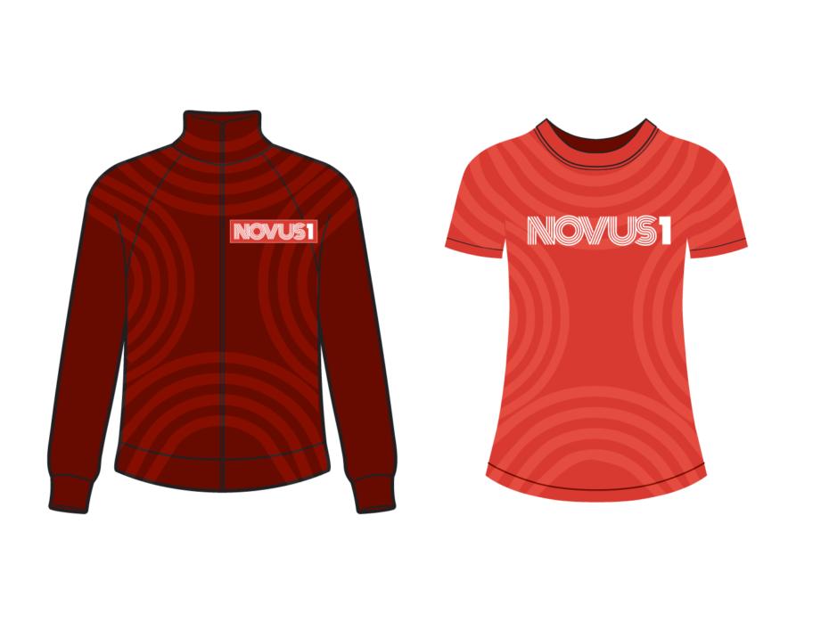 NOVUS1 jacket & tee shirt